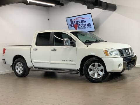 2005 Nissan Titan for sale at Texas Prime Motors in Houston TX