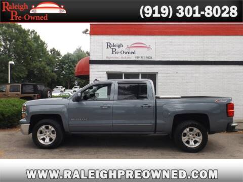 2015 Chevrolet Silverado 1500 for sale at Raleigh Pre-Owned in Raleigh NC
