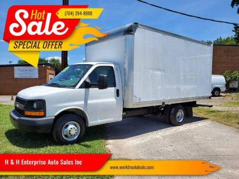 2015 Chevrolet Express Cutaway for sale at H & H Enterprise Auto Sales Inc in Charlotte NC
