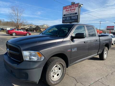 2016 RAM Ram Pickup 1500 for sale at Unlimited Auto Group in West Chester OH