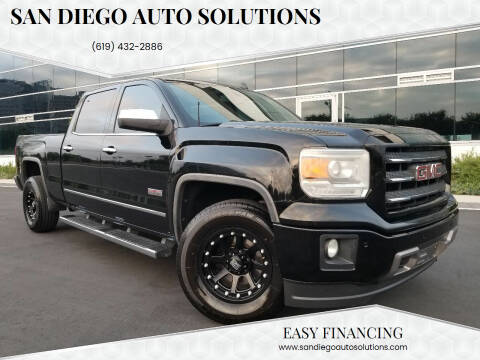 2014 GMC Sierra 1500 for sale at San Diego Auto Solutions in Escondido CA