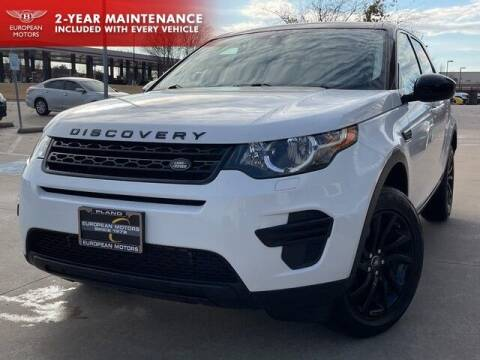 2016 Land Rover Discovery Sport for sale at European Motors Inc in Plano TX