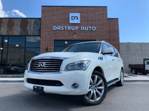2013 Infiniti QX56 for sale at Dastrup Auto in Lindon UT