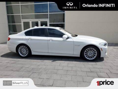 2011 BMW 5 Series for sale at Orlando Infiniti in Orlando FL