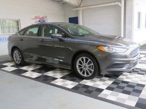2017 Ford Fusion Hybrid for sale at McLaughlin Ford in Sumter SC