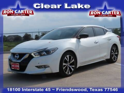 2017 Nissan Maxima for sale at Ron Carter  Clear Lake Used Cars in Houston TX