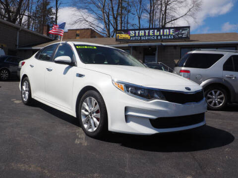 2017 Kia Optima for sale at East Providence Auto Sales in East Providence RI