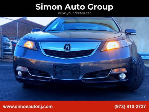 2012 Acura TL for sale at Simon Auto Group in Newark NJ