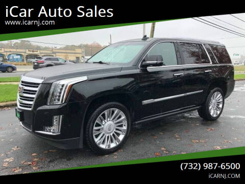 2020 Cadillac Escalade for sale at iCar Auto Sales in Howell NJ
