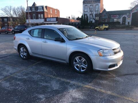 2011 Dodge Avenger for sale at DC Auto Sales Inc in Saint Louis MO