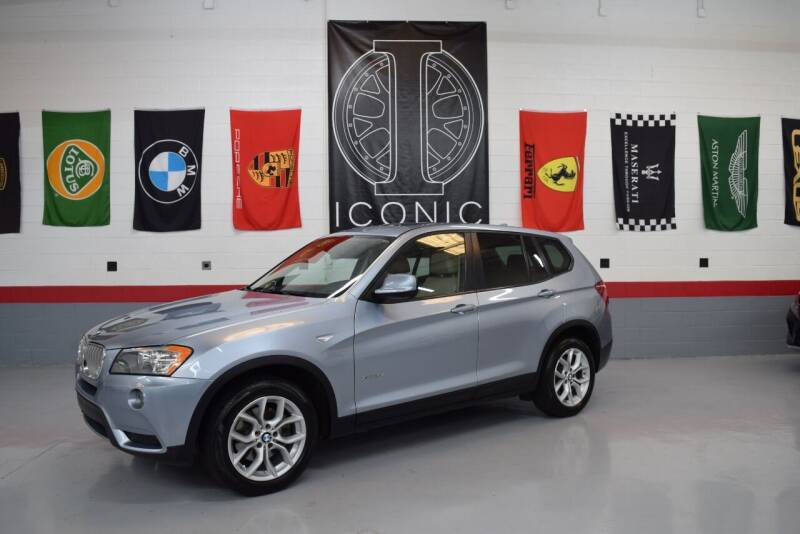 2013 BMW X3 for sale at Iconic Auto Exchange in Concord NC