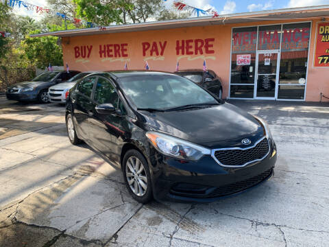 2014 Kia Forte for sale at DREAM CARS in Stuart FL
