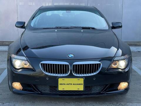 2009 BMW 6 Series for sale at Delta Auto Alliance in Houston TX