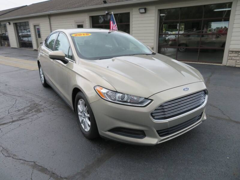 2015 Ford Fusion for sale at Tri-County Pre-Owned Superstore in Reynoldsburg OH