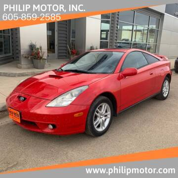 2002 Toyota Celica for sale at Philip Motor Inc in Philip SD