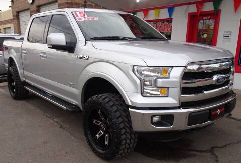 2015 Ford F-150 for sale at VISTA AUTO SALES in Longmont CO
