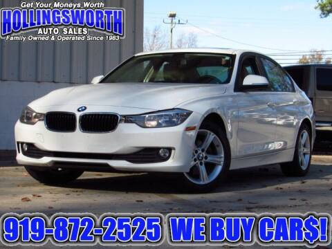 2015 BMW 3 Series for sale at Hollingsworth Auto Sales in Raleigh NC