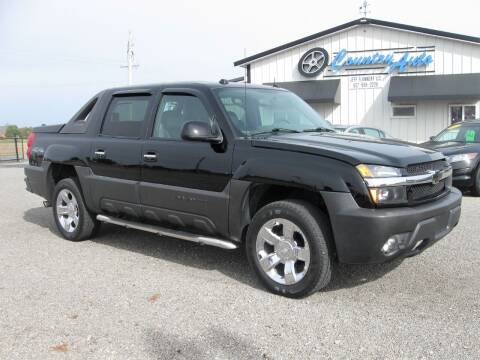 2004 Chevrolet Avalanche for sale at Country Auto in Huntsville OH