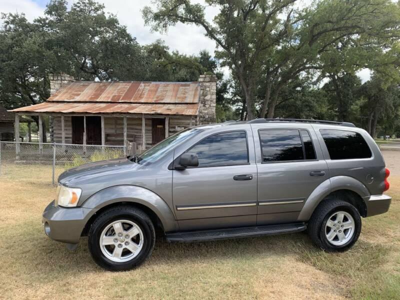 2007 Dodge Durango for sale at Village Motors Of Salado in Salado TX