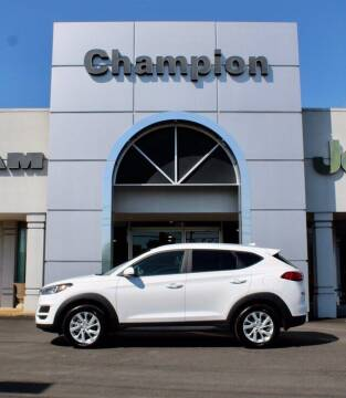 2020 Hyundai Tucson for sale at Champion Chevrolet in Athens AL
