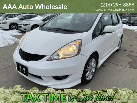 2010 Honda Fit for sale at AAA Auto Wholesale in Parma OH