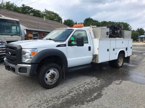 2012 Ford F-550 Super Duty for sale at J.W.P. Sales in Worcester MA