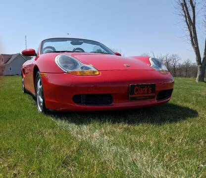 1999 Porsche Boxster for sale at Clarks Auto Sales in Connersville IN