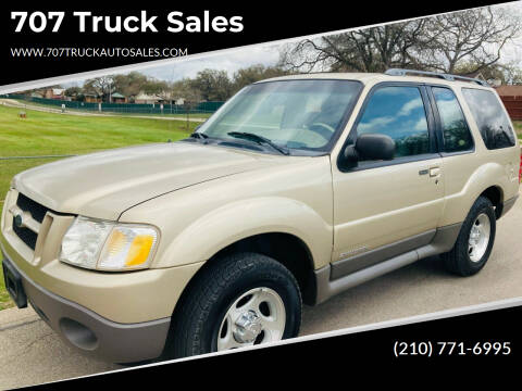 2002 Ford Explorer Sport for sale at 707 Truck Sales in San Antonio TX