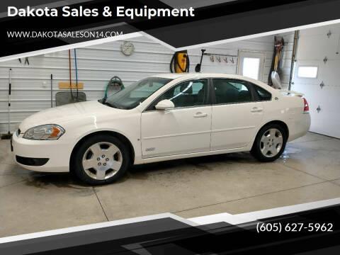 2008 Chevrolet Impala for sale at Dakota Sales & Equipment in Arlington SD