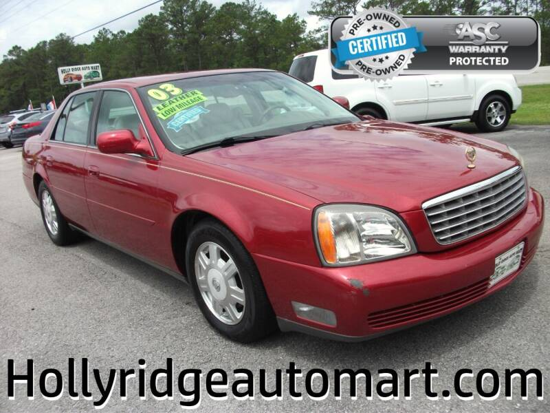 2003 Cadillac DeVille for sale in Holly Ridge, NC