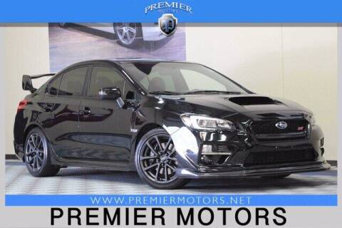 2017 Subaru WRX for sale at Premier Motors in Hayward CA