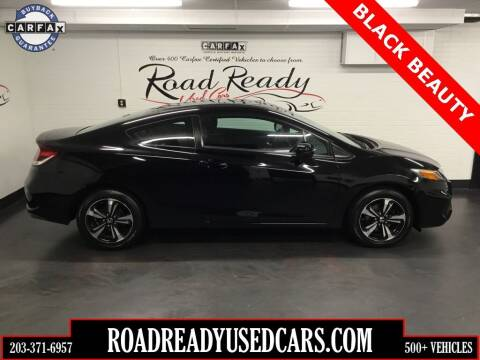 2015 Honda Civic for sale at Road Ready Used Cars in Ansonia CT