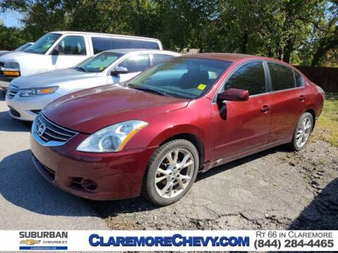 2011 Nissan Altima for sale at Suburban Chevrolet in Claremore OK