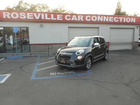 2015 FIAT 500L for sale at ROSEVILLE CAR CONNECTION in Roseville CA