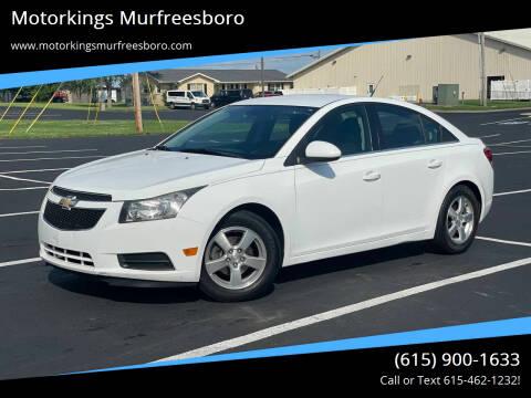 2014 Chevrolet Cruze for sale at Motorkings Murfreesboro in Murfreesboro TN