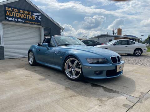 2000 BMW Z3 for sale at Dalton George Automotive in Marietta OH