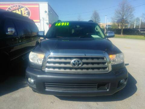 2010 Toyota Sequoia for sale at AUTOPLEX 528 LLC in Huntsville AL