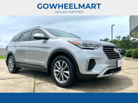 2018 Hyundai Santa Fe for sale at GOWHEELMART in Leesville LA