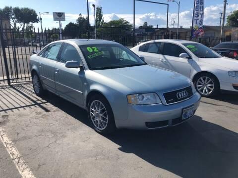 2002 Audi A6 for sale at Joe's Automobile in Vallejo CA