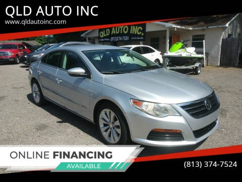 2012 Volkswagen CC for sale at QLD AUTO INC in Tampa FL