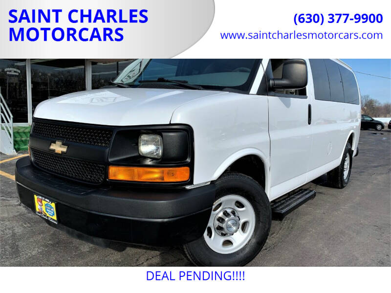 2015 Chevrolet Express Passenger for sale at SAINT CHARLES MOTORCARS in Saint Charles IL