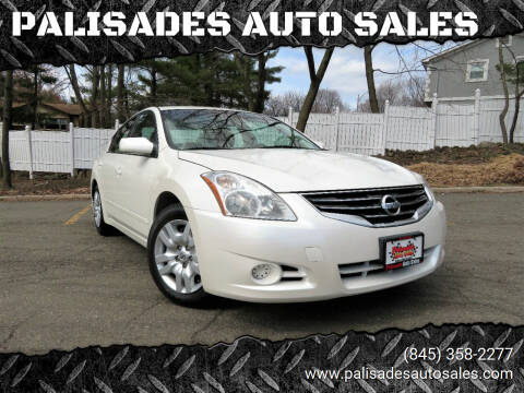 2010 Nissan Altima for sale at PALISADES AUTO SALES in Nyack NY