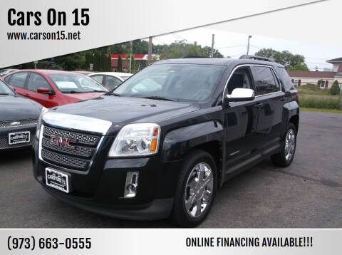 2012 GMC Terrain for sale at Cars On 15 in Lake Hopatcong NJ