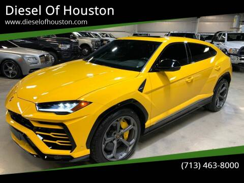 2019 Lamborghini Urus for sale at Diesel Of Houston in Houston TX