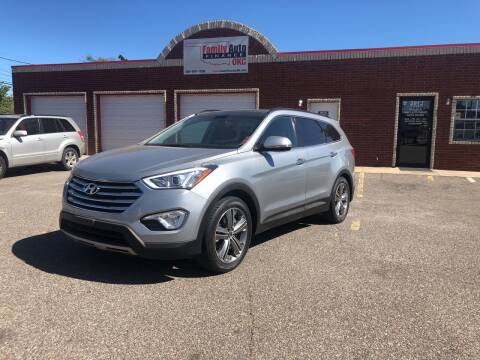 2014 Hyundai Santa Fe for sale at Family Auto Finance OKC LLC in Oklahoma City OK