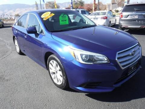 2015 Subaru Legacy for sale at Budget Auto Sales in Carson City NV