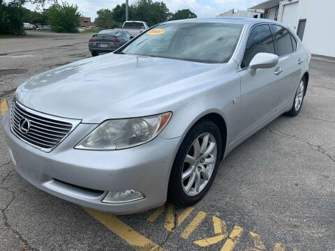 2007 Lexus LS 460 for sale at Kellis Auto Sales in Columbus OH