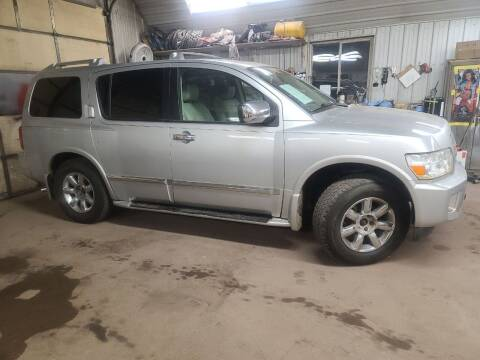 2006 Infiniti QX56 for sale at Eau Claire Auto Exchange in Elk Mound WI