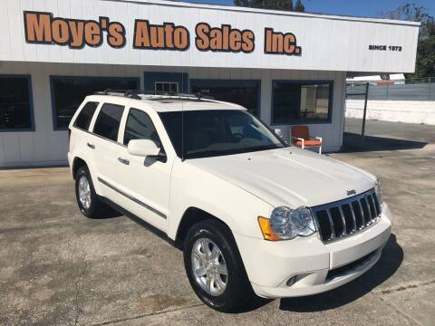 2010 Jeep Grand Cherokee for sale at Moye's Auto Sales Inc. in Leesburg FL