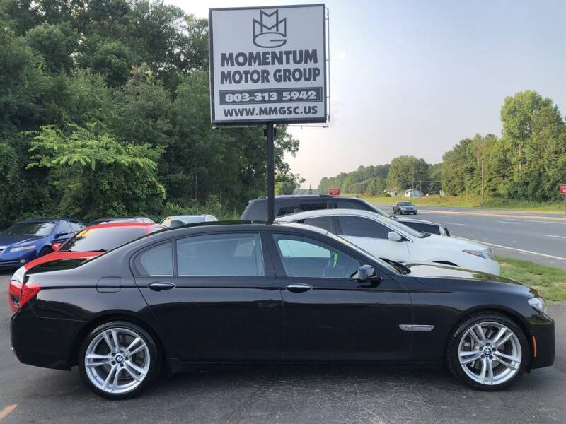 2011 BMW 7 Series for sale at Momentum Motor Group in Lancaster SC
